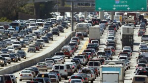 LA traffic 405 - Los Angeles, Ca