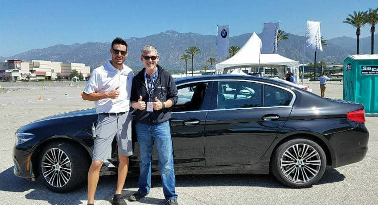 BMW Ultimate Driving Experience driver w Stephen Harvey