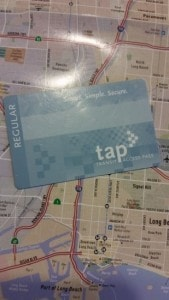 TAP card for Los Angeles