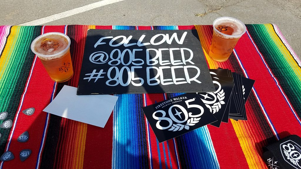 805 beer at Red Bull GRC Series in the Port of LA
