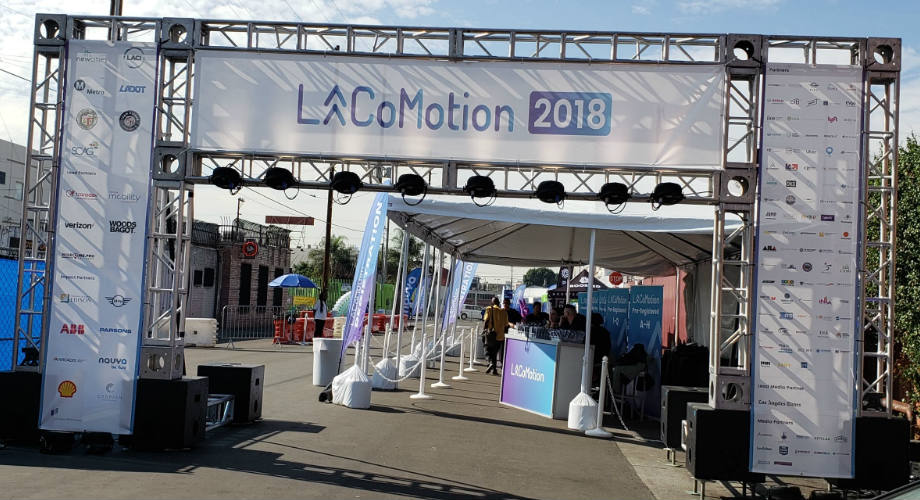 LA CoMotion 2018 entrance day