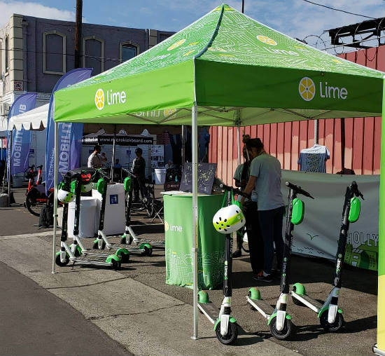Lime Scooters LA CoMotion 2018